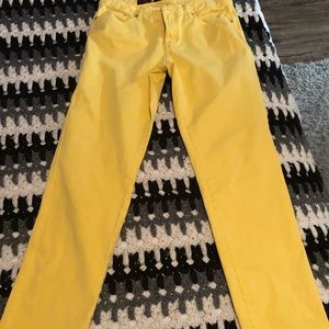 Pants - 3 for $12! Size 10 Yellow Stretch Pants!